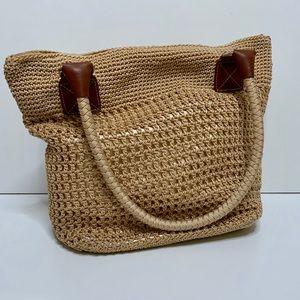 NWOT The Sak Tan Bucket Bag